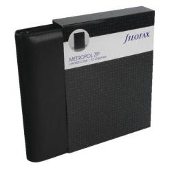 Cheap Stationery Supply of Filofax Metropol Black A5 Zipped Organiser (Includes UK and ROI bank holidays) 026979 Office Statationery