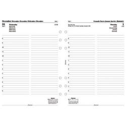 Cheap Stationery Supply of Filofax 2012 Day Per Page Diary Refill for A4 Organisers 6871912 Office Statationery