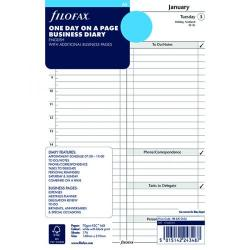 Cheap Stationery Supply of Filofax Refill A5 Day Per Page 2019 19-68519 Office Statationery