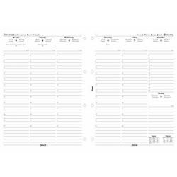 Cheap Stationery Supply of Filofax 2014 Appointment Diary Week to View for A4 Organisers 6871414 Office Statationery