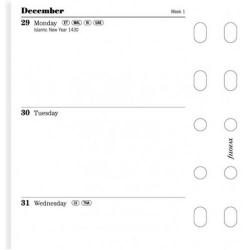 Cheap Stationery Supply of Filofax 2015 Week to View Diary Refill for Pocket Organisers 6822115 Office Statationery