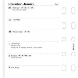 Cheap Stationery Supply of Filofax Pocket Two Weeks to View 2016 Refill 6822616 Office Statationery