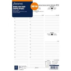 Cheap Stationery Supply of Filofax A4 Week to View Appointments 2016 Refill 6871416 Office Statationery