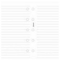 Cheap Stationery Supply of Filofax Ruled Notepaper Refill White for Mini Organisers 513008 Office Statationery