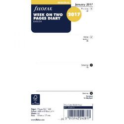 Cheap Stationery Supply of Filofax Personal Week to View 2017 Refill 17-68421 Office Statationery