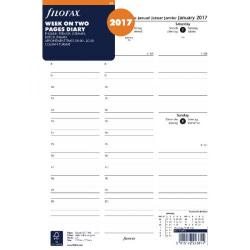 Cheap Stationery Supply of Filofax A4 Week to View Appointments 2017 Refill 17-68714 Office Statationery