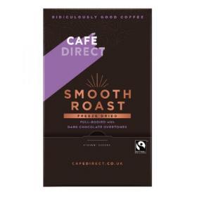 Cafedirect Smooth Roast Freeze Dried Coffee Sticks (Pack of 250) TWI41023