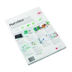 Cheap Stationery Supply of GBC Peel and Stick A4 Laminating Pouch Adhesive (Pack of 100) 3747243 Office Statationery