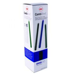 Cheap Stationery Supply of GBC CombBind Binding Combs 10mm Black (Pack of 100) 4028175 Office Statationery