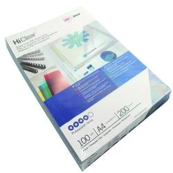 Cheap Stationery Supply of GBC HiClear A4 Binding Cover 20 Mic SuperClear (Pack of 100) CE012080U Office Statationery