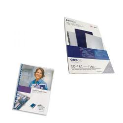 Cheap Stationery Supply of GBC HiClear A4 Binding Cover 150 Micron Clear (Pack of 50) 41600E Office Statationery