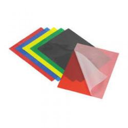 Cheap Stationery Supply of Acco GBC Laminating Pouch A4 200micron Coloured Back Red Pack of 50 4400376 Office Statationery