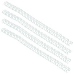 Cheap Stationery Supply of GBC WireBind A4 Binding Wires 8mm White (Pack of 100) RG810570 Office Statationery