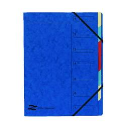 Cheap Stationery Supply of Exacompta Europa 7-Part Organiser A4 Blue 5219Z Office Statationery