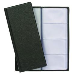 Cheap Stationery Supply of Exacompta Guildhall Classic Business Card Holder 128 Card Black CBC4P Office Statationery