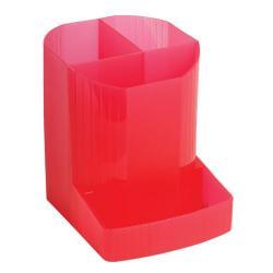 Cheap Stationery Supply of Exacompta Iderama Pen Pot Raspberry (W90 x D123 x H110mm) 67585D Office Statationery