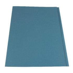 Exacompta Guildhall Square Cut Folder 315gsm Foolscap Blue (Pack of 100) FS315-BLUZ