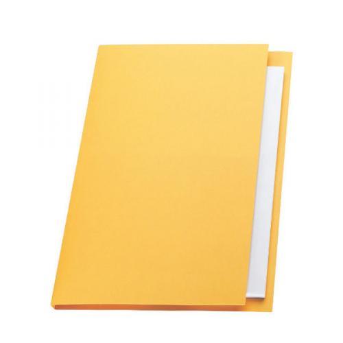 Guildhall Square Cut Folders Manilla 315gsm Foolscap Blue: Exacompta Guildhall Square Cut Folder 315gsm Foolscap