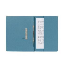 Exacompta Guildhall Pocket Spiral File 285gsm Blue (Pack of 25) 347-BLUZ