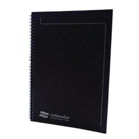 Clairefontaine Europa Notemakers Notebook A4 Black (Pack of 10) 4862