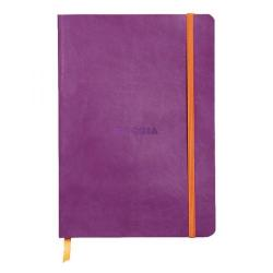 Cheap Stationery Supply of Rhodiarama Soft Cover Notebook 160 Pages A5 Purple 117410C Office Statationery