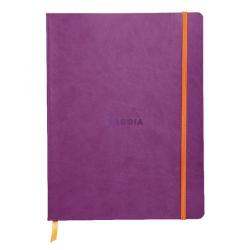 Cheap Stationery Supply of Rhodiarama Soft Cover 190x250mm 160 Pages Violet Notebook 117510C Office Statationery
