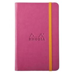 Cheap Stationery Supply of Rhodia A6 Lined Web Notebook Raspberry 118652C Office Statationery