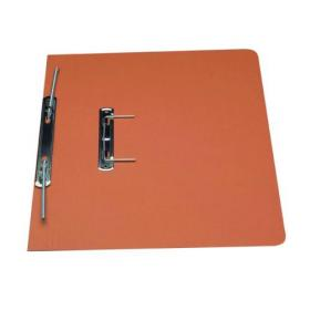 Exacompta Guildhall Transfer Spiral File 315gsm Foolscap Orange (Pack of 50) 348-ORG