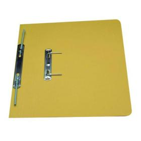 Exacompta Guildhall Heavyweight Transfer Spiral File 420gsm Foolscap Yellow (Pack of 25) 211/7003