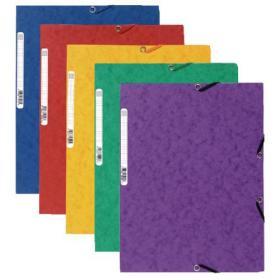 Exacompta Europa Portfolio File A4 Assorted (Pack of 10) 55515E