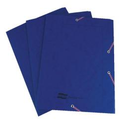 Cheap Stationery Supply of Exacompta Europa Portfolio File A4 Dark Blue (Pack of 10) 55502SE Office Statationery