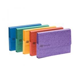 Exacompta Europa Pocket Wallet A3 Assorted A (Pack of 25) 4780Z