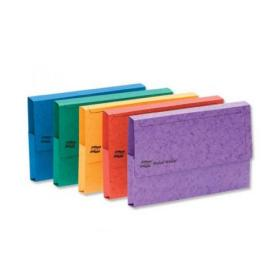 Exacompta Europa Pocket Wallet Foolscap Assorted A (Pack of 25) 4790