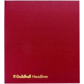 Exacompta Guildhall Headliner Book 80 Pages 298x273mm 48/21 1290