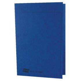 Europa Square Cut Folder 300 micron Foolscap Blue (Pack of 50) 4825