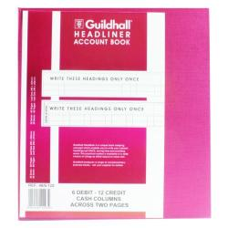 Cheap Stationery Supply of Exacompta Guildhall Headliner Book 80 Pages 298x273mm 48/6-12 1293 Office Statationery