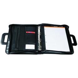 Cheap Stationery Supply of Exacompta Exactive Exafolder Black Organiser Pack of 1 55634E Office Statationery