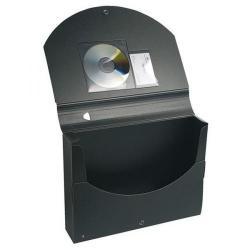 Cheap Stationery Supply of Exacompta A4 Exactive Filing Box Polypropylene Black 59134E Office Statationery