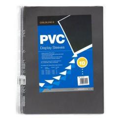 Cheap Stationery Supply of Goldline PVC Display Sleeve A3 Pack of 10 SLA3XZ SLA3XZ Office Statationery