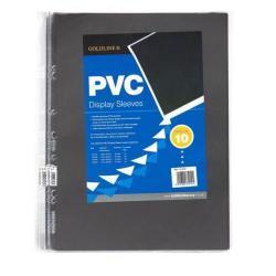 Cheap Stationery Supply of Goldline PVC Display Sleeve A4 Pack of 10 SLA4XZ SLA4XZ Office Statationery