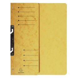 Cheap Stationery Supply of Exacompta Hook in File Folder A4 Yellow Pack of 25 362509B Office Statationery