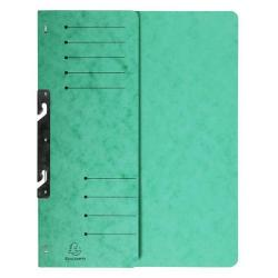 Cheap Stationery Supply of Exacompta Hook in File Folder A4 Green Pack of 25 362503B Office Statationery