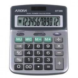 Cheap Stationery Supply of Aurora DT398 Desk Calculator DT398 Office Statationery