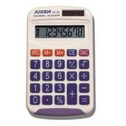 Cheap Stationery Supply of Aurora HC133 Handheld Calculator HC133 Office Statationery