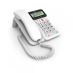 Cheap Stationery Supply of Bt Decor 2600 White Corded Telephone With Call Blocker Office Statationery