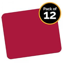 Cheap Stationery Supply of Fellowes 29701 Economy Mouse Pad Red - Pack of 12 Office Statationery