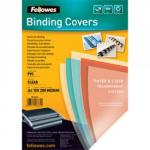 Fellowes 5376102 A4 Clear Covers