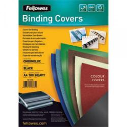 Cheap Stationery Supply of Fellowes 5378501 A4 Leatherboard Covers Office Statationery