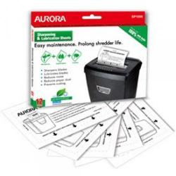 Cheap Stationery Supply of Aurora Sp1000 Lubrication And Sharpening Sheets 12pk Office Statationery