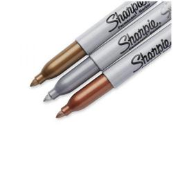 Cheap Stationery Supply of Sharpie Metallic Permanent Marker Fine Assorted (Pack of 3) 1849114 Office Statationery